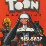 Ben Dunn interview TOON MAGAZINE Summer 1997 Warrior Nun Areala pilot